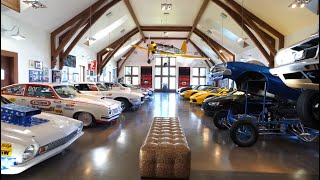 AMAZING MANSION WITH RACE CAR MUSEUM