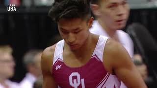 Yul Moldauer On Vault   Champions Series Presented By Xfinity
