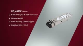 HP J4858C compatible 1000Base-SX SFP Transceiver