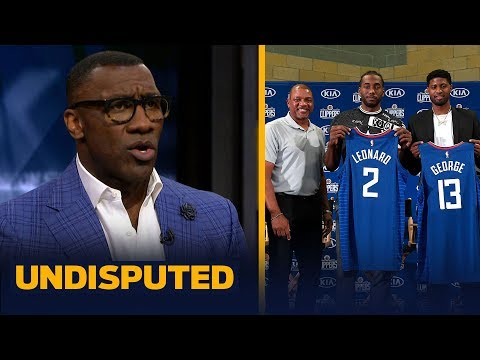 Shannon Sharpe reacts to Doc Rivers' comments that Kawhi handpicked Paul George   NBA   UNDISPUTED