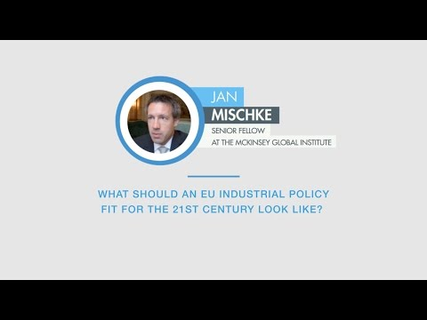 Jan Mischke comments on an EU industrial policy