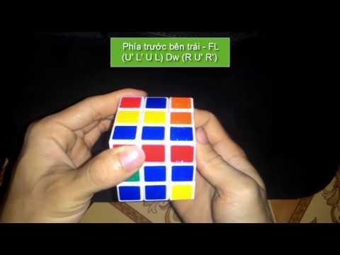 Cách chơi rubik 3x3x3 dễ dàng nhất - Tầng 1,2