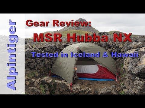 MSR Hubba NX (2017) : Tested in Iceland & Hawaii