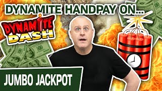 🧨 DYNAMITE Handpay Playing DYNAMITE Dash HIGH-LIMIT SLOTS 💥 EXPLOSIVE
