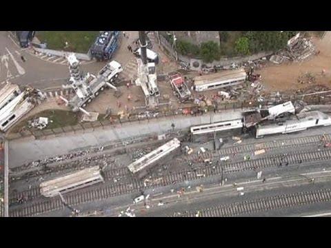 Испанские железные дороги ответят за аварию у Сантьяго-де-Компостелы?