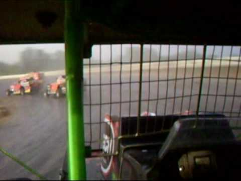 "Tony ""The Hitman"" Steiner at Cayuga County  Fair Speedway 5/24/09 Part 1"