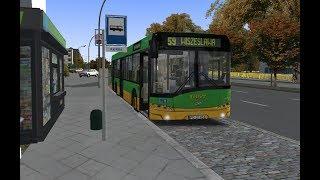 Omsi 2 - Autobusem przez Szczecin. Linia 59 Plac Rodła - Wiszesława