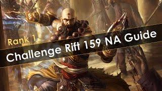 Diablo 3 Challenge Rift 159 NA Guide Rank 1