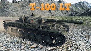 WoT T-100 LT | 6.562 DMG - Mountain Pass