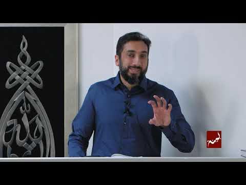 How The Devil Pulls Us Back - Khutbah by Nouman Ali Khan