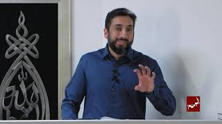 How The Devil Pulls Us Back - Khutbah by Nouman Ali Khan