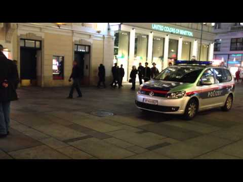 Viennese police rushed into a casino