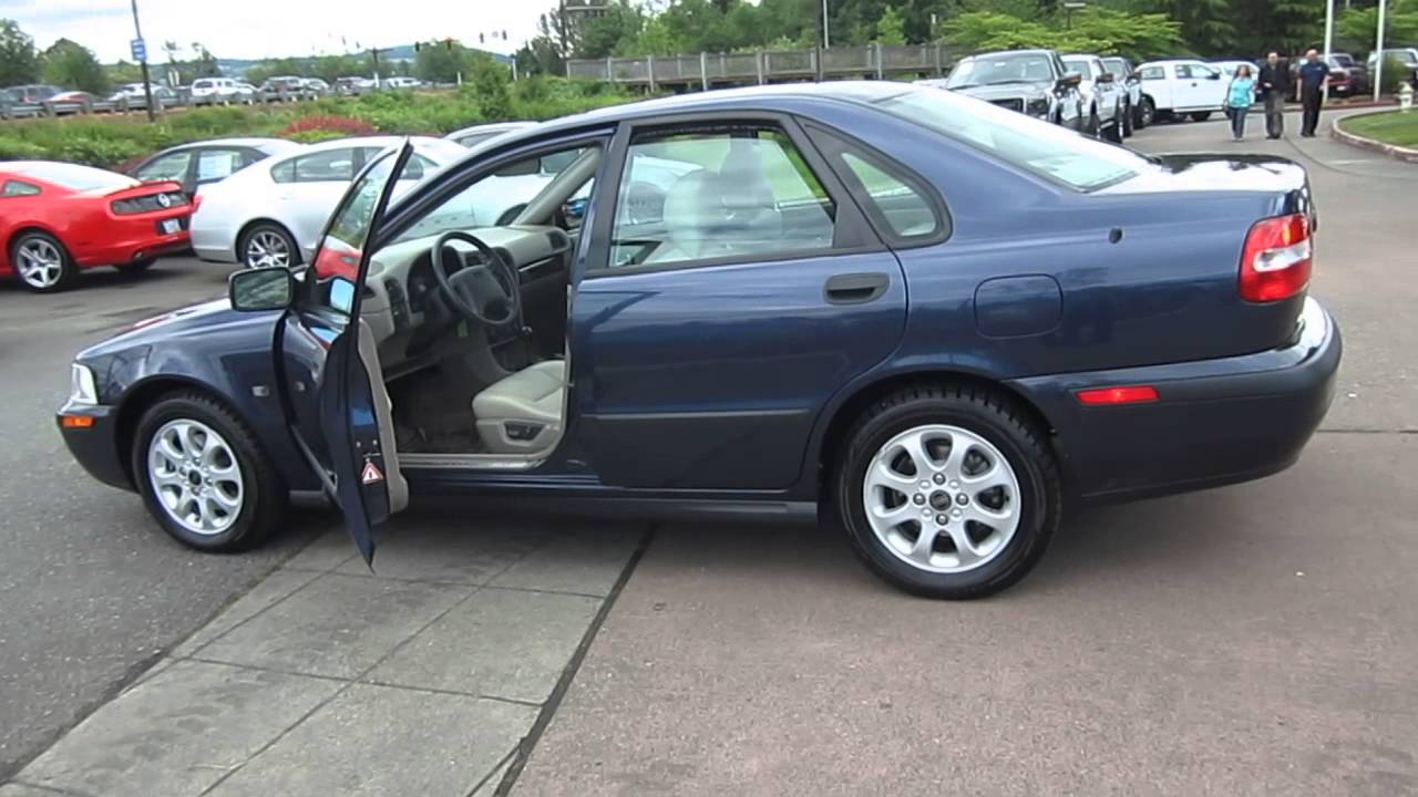 2002 Volvo S40 Blue Stock 13 2507a