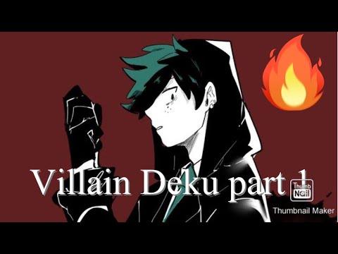 Villain deku  in  rehab AU | why does all 1A like villain deku