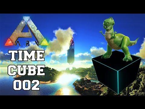 ARK TIME CUBE   #02 DER SPOT IST KRUMM   Ark German   PvP