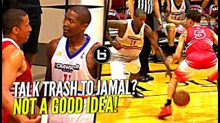 DON'T TALK TRASH TO JAMAL CRAWFORD!! NUTMEGS Defender & Hits The 3! Crawsover Pro Am FULL Highlights thumbnail