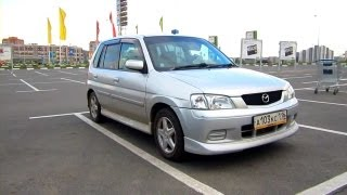 2001 Mazda Demio. Start Up, Engine, And In Depth Tour.