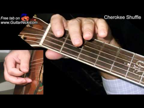 cherokee-shuffle:-bluegrass-guitar-+-tab!-learn-to-play-on-acoustic-guitar