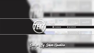 [FREE] Black & White Banner Template | Speedart #31