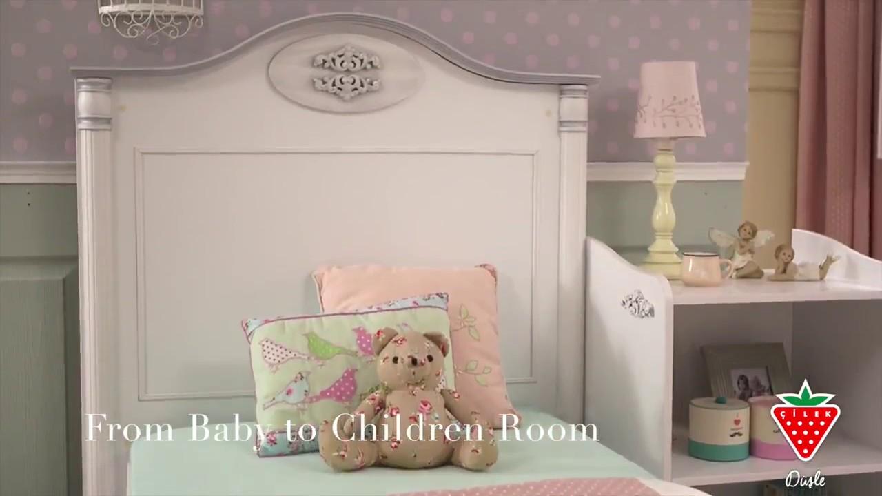Babyzimmer  Babyzimmer Baby Romantic von Cilek - YouTube
