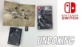 SALT AND SANCTUARY NINTENDO SWITCH GAME UNBOXING
