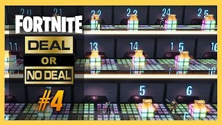 Fortnite Creative Deal or No Deal #4! Who Has The Bush?!