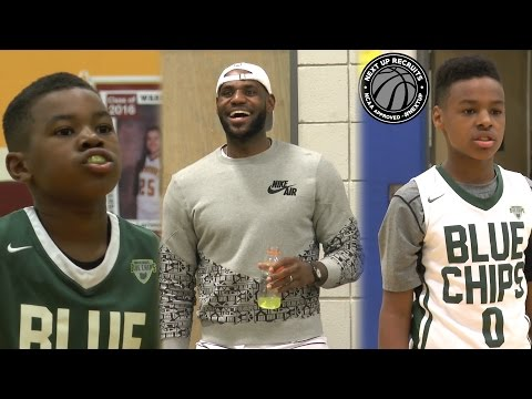 LeBron James cheers on sons to Buckeye Prep championship!!! Bryce & Bronny BALL OUT in Columbus