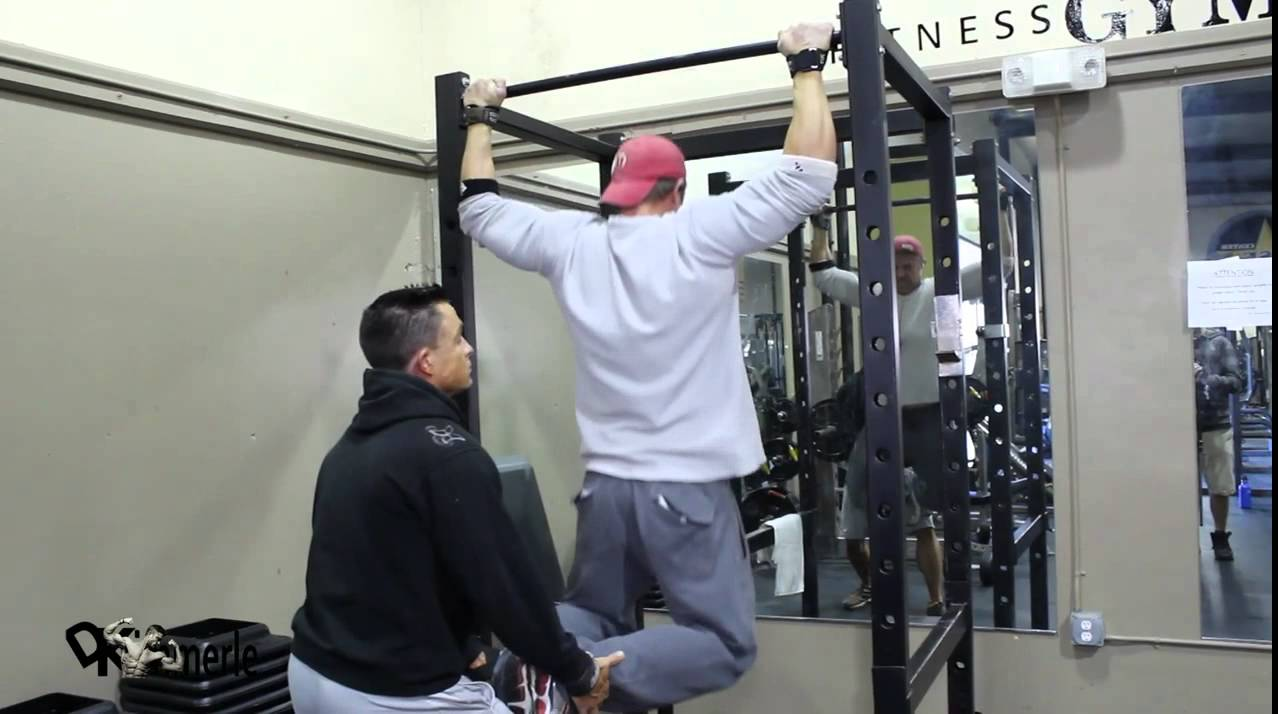 Pull Ups Behind Neck Bench Press Superset Fighter Training Workout