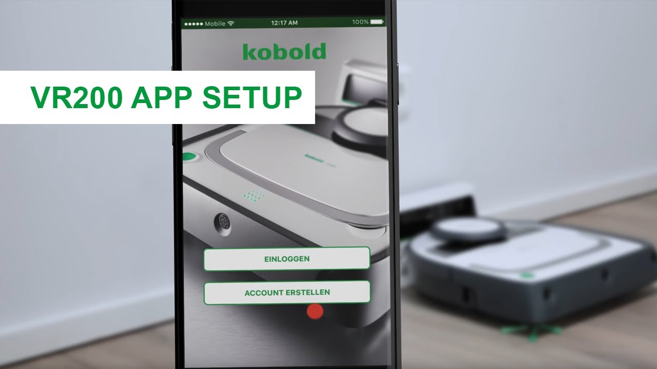 die kobold roboter app – vorwerk kobold vr200  youtube ~ Staubsauger Roboter Türschwelle
