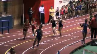 2014 NJ Bergen County Relays Armory Girls 4x200 Northern Highlands