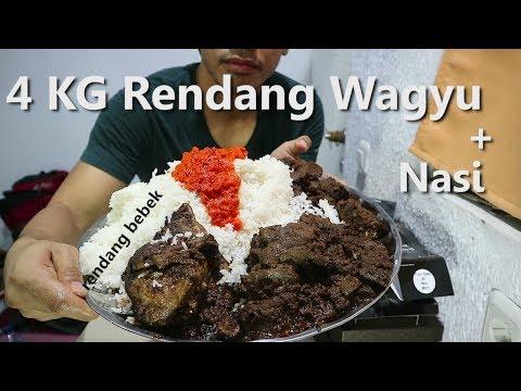 MUKBANG | 4 KG Rendang Wagyu + Nasi