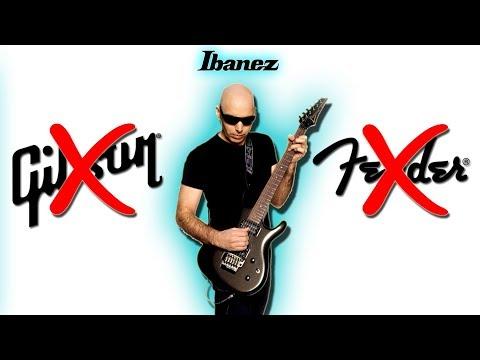 Joe Satriani: Why I DON'T Like Gibson & Fender Guitars