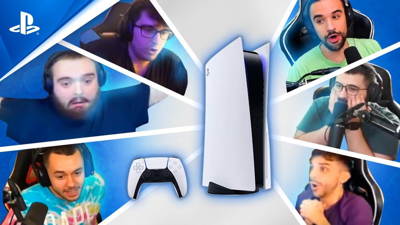 MEJORES REACCIONES sobre PS5 -TheGrefg, Ibai, LMDShow, Alexelcapo,Alexby11 | PlayStation España