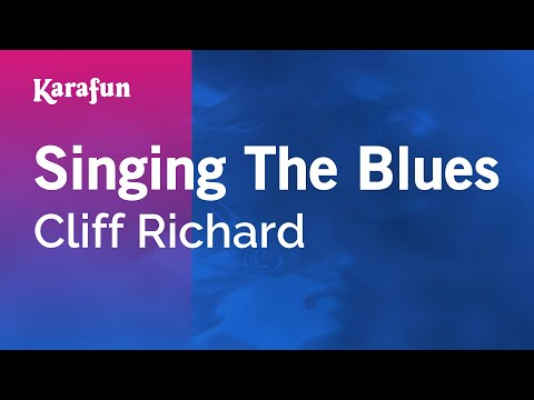 Karaoke Singing The Blues - Cliff Richard *