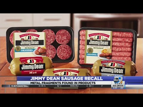 Michael J. - Jimmy Dean Sausage is being Recalled. Better check your sausage to be safe!