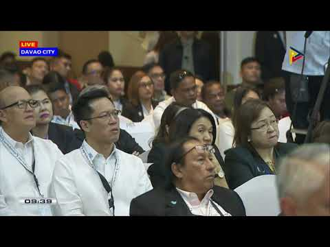 President #Duterte graces the Manila Times 7th Business Forum at the Marco Polo Hotel, Davao City
