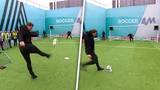 Pro Footballer turned wrestler Grant Holt takes on Soccer AM Pro AM!