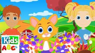 Хоровод вокруг розы | детские песни | анимация | детские мультфильмы | стихи для малышей