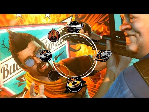 Sunset Overdrive: When Video Game Character Realize They're in a Video Game