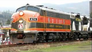 Oregon Coast Scenic Railroad Dinner Train!