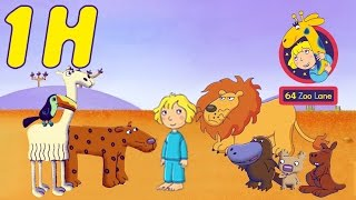 1 hour of 64 zoo lane summer compilation 4 hd   cartoon for kids