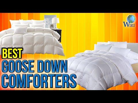6 Best Goose Down Comforters 2017