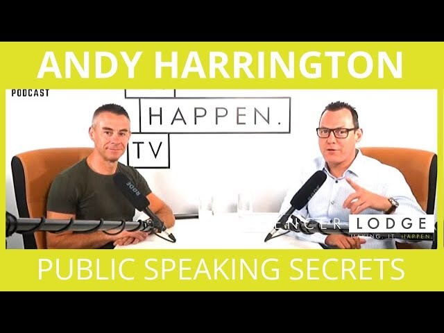 Andy Harrington -  Public Speaking Secrets