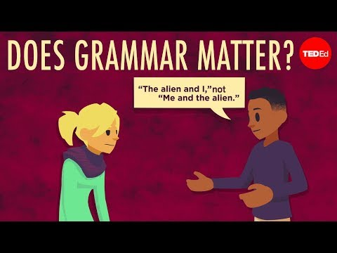 Video image: Does grammar matter? - Andreea S. Calude