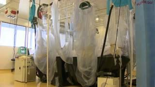 Video Isolation Unit Set Up at London's Royal Free Hospital download MP3, 3GP, MP4, WEBM, AVI, FLV November 2017