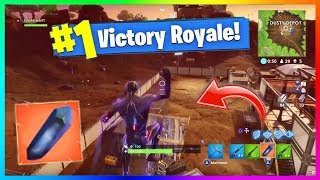 OMG TOP 1 AVEC LES PIERRES ANTIGRAVITE DE LA NEW MAP - MISE A JOUR Fortnite Battle Royale Saison 4 !