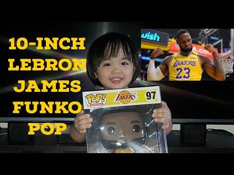 10-inch Lebron James NBA Funko Pop - YouTube
