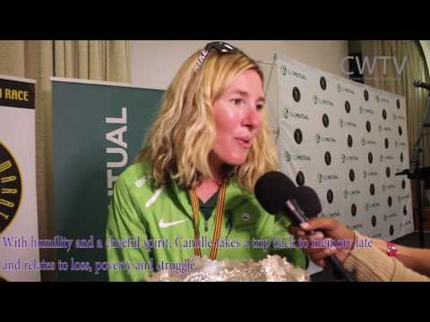 The Peopl's Views Comrades2017 Winner Women's Race Camille Herron