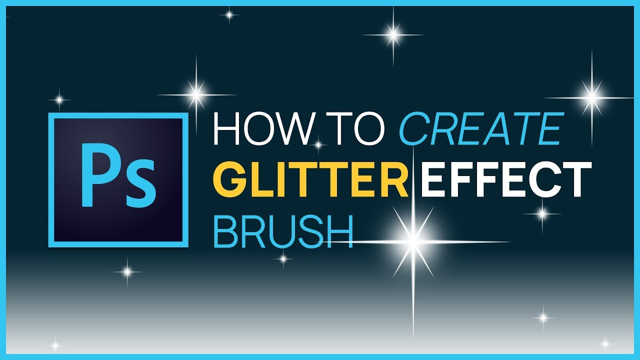 Photoshop cs4 how to create your own glitter brush youtube baditri Image collections
