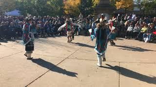 Indigenous Peoples Day Celebration 2017 -  Zuni Pueblo - Soaring Eagle Dance Group Clip 5